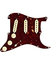 Fender Pre-Wired Strat Pickguard, Custom '69 SSS Electric Guitar Electronics