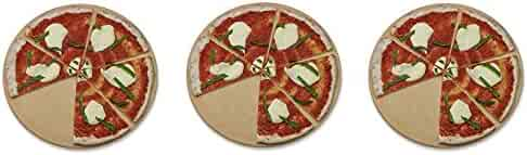 Old Stone Oven Round Pizza Stone (3-(Pack))