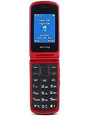 Ushining Telefono Cellulare per Anziani con Tasti Grandi
