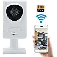 WiFi IP Wireless Security Camera 720P Home Surveillance Camera System Great For Video Monitor Nanny/Baby/ Dog/Elder with Two Way Audio and Night Vision Motion Detector
