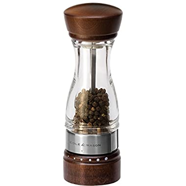 Cole & Mason Keswick Gourmet Precision Wood Pepper Mill