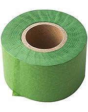 Amosfun Rollos de serpentina de papel crepé de navidad de 100 m para decoración de pared de fiesta de navidad diy art (verde)