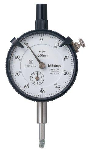 Mitutoyo 2046S, 0.01mm X 10mm Dial Indicator, 0-100, Lug Back, Series 2, 8mm Stem Price & Reviews