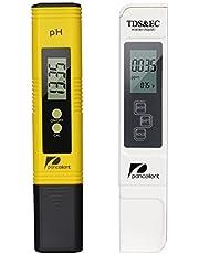 Pancellent Mètre de Test de qualité de l'eau TDS PH EC 4 en 1 Set