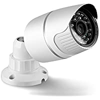 Full HD 1080P Security IP Camera, Outdoor Waterproof Surveillance Camera with Day & Night Vision/Motion Detect/Email FTP Alert P2P Remote Viewing Bullet CCTV Cameras
