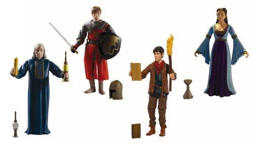 Les aventures de Merlin Merlin Merlin - Figurines - Set de 4   Prix D'aubaine  cafc62