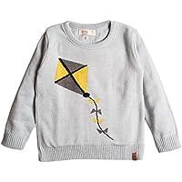 Suéter infantil tricô masculino pipa