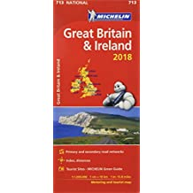 Great Britain & Ireland 2018 National Map 713 2018