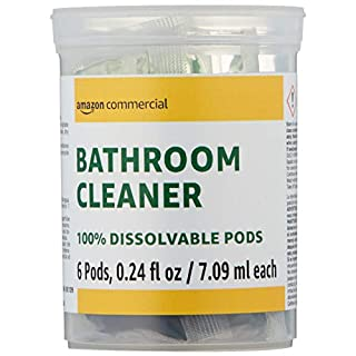 AmazonCommercial Dissolvable Bathroom Cleaner Refill Vial - 6 Pacs