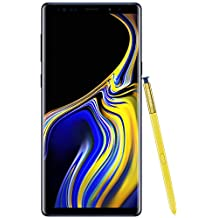 Samsung Galaxy Note9 Factory Unlocked Phone with 6.4in Screen and 128GB (U.S. Warranty), Ocean Blue (Renewed)