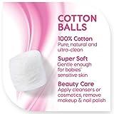 Simply Soft Premium Cotton Balls, 100% Pure