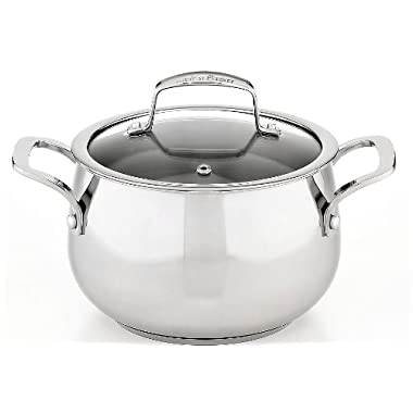 1 X Belgique Stainless Steel Soup Pot, 3 Qt.