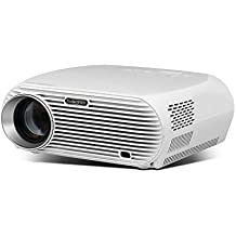 Projector, RocketPRO 1080P Video Projector 30% Speed Up GP100.PRO with 1280x800p WXGA Resolution 120-inches Big Screen LED Efficiency over 30000 Hours with DVD/Fire TV/Laptop for Home Theater System