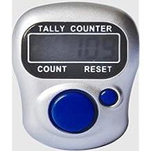 Finger Ring Electronic Tally Counter Digital 5 Digit Tasbeeh Tasbih LCD for Station/Dock/Golf/Public