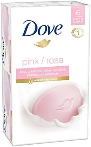 Dove Core Beauty Bar Pink 4 oz, 6 Bar