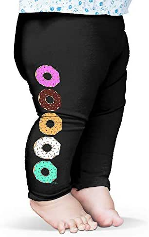 TWISTED ENVY Bright Sprinkle Donuts Baby Novelty Leggings Trousers