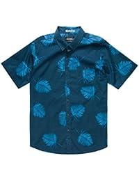 Mens Tropical SS Button Up Shirt