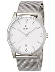 OBAKU V169GDCIMC Mens Wrist Watches, Classic Analog Watch with 3 Hands Date