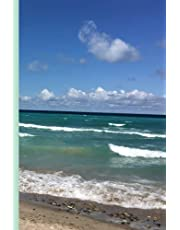 Discreet Password Logbook Beach Scene: Write down and log your online internet passwords to keep data safe and secure. Beautiful image of the Beach on cover, interior includes pages in alphabetical order, convenient 6 by 9 size, 107 pages