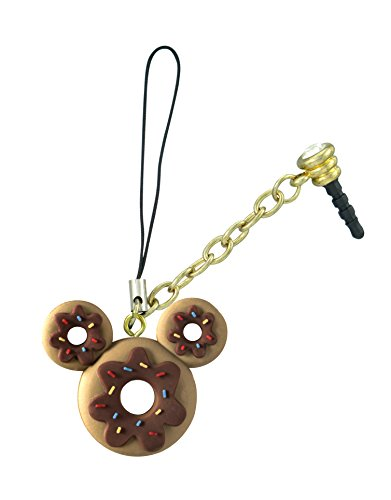 Disney Mickey Donut D-Lish Treats Phone Charm