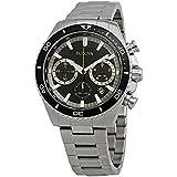 Bulova High Frequency Quartz Chronograph Silver Tone Men's Watch 98B298