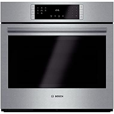 Bosch HBL8451UC 800 30  Stainless Steel Electric Single Wall Oven - Convection