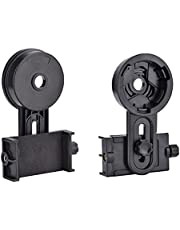 Adapter Mount Connector for Cell Phone Camera Binocular Monocular Telescope Microscope (Universal).