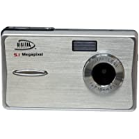 Digital Concepts 5.1 MP Digital Camera (Silver) (OLD MODEL)