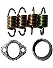 Gxcdizx Exhaust Donuts Seal Gasket Spring Rebuild Kit Repl. 5240898/3085075/7042031 for 1996-2000 Sportsman 500