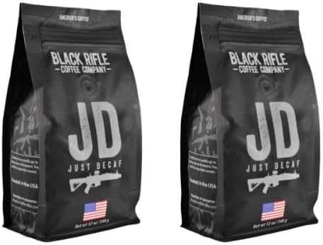 Black Rifle Coffee Company Whole Bean 2-12oz Bags (Just Decaf)