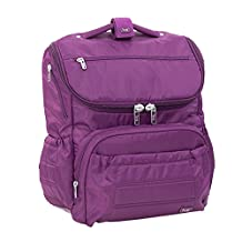 Lug Pitter Patter Carry-All Backpack, Plum Purple