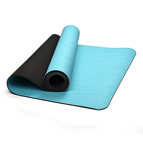 Yogamatte/Naturkautschuk-ultra dünne Verlängerung, 6mmEnvironment Friendly Tasteless Gymnastikmatte, Yogamatte/passender Platz: Gymnasium, Familie.