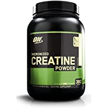 Optimum Nutrition Micronized Creatine Monohydrate Powder, Unflavored, 2000g