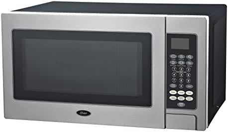 Oster OGZD0701 Microwave Oven, Stainless Steel