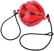 Boxing Speed Ball,Boxing Training Leather Speed Ball Double End MMA Pouching