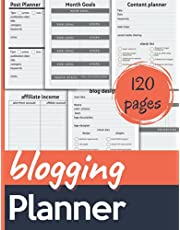 Blogging planner: Bloggers and content creators Post Planner, guide, and Blog Planning Notebook, Blogger Log Book, Perfect gift for bloggers (8.5x11 110 pages)