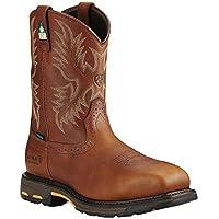 Ariat Mens Workhog H2o Csa Work Boot Composite Toe Copper 12 D(M) US