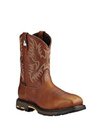 Ariat Mens Workhog Csa H2O Comp Toe Western Work