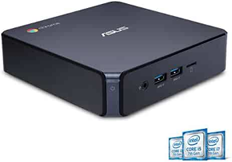 ASUS CHROMEBOX 3-N017U Mini PC Intel Celeron, 4K UHD Graphics Power Over Type C Port, Star Gray