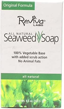 Reviva Labs Seaweed Soap, 4.5-Ounce (Pack of 6)