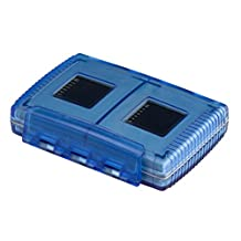 Gepe 3861-02 CardSafe Extreme for Compact Flash, SD, Smart Media, Multimedia Card, & Memory Stick (Ice Blue)
