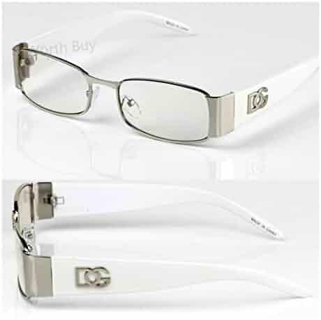 c8497bc6cc59 Men Women DG Clear Lens Designer Rectangular Eyeglasses Retro Fashion Nerd  Frame