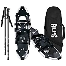 """ALPS Adult All Terrian Snowshoes set for Men,Women,Youth with Trekking Poles,Carrying tote Bag 22""""/25""""/27""""/30""""/34"""""""