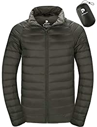 Men's Packable Down Jacket Lightweight Water-Resistant Winter Puffer Jacket Slim Fit NT0905
