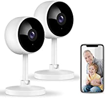 Home Security Camera, Littlelf 1080P Indoor WiFi Surveillance IP Camera with Manual Night Vision, 2-Way Audio, Human...