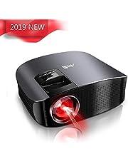 Proiettore HD, Artlii proiettore led supporto Full HD 1080p, Bassa Rumorosità Home Theater Videoproiettore per Guardare Film