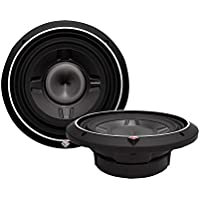 2) ROCKFORD FOSGATE P3SD2-12 12 1600W Car Shallow/Slim Audio Subwoofers Subs