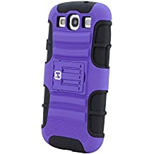 iHome Tough - Specialty Tough Case for Samsung Galaxy S3 (Purple)