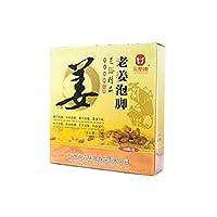 GINGER FAVOR Foot Reflexology Chinese medicine foot bath powder kits cold blood …