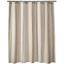 Target Home Gold Striped Shower Curtain